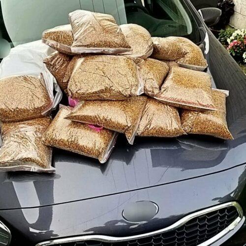 Tomaszowscy policjanci przechwycili kontrabandę